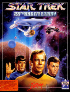 Cover art for Star Trek: 25th anniversary
